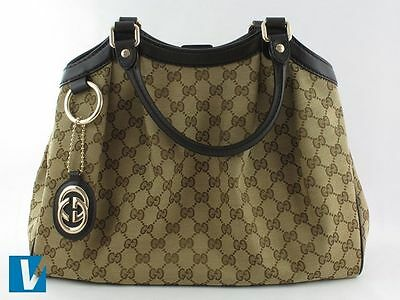 5de665d81c81e New Gucci handbags are accompanied by a high quality dust bag. Variations  of in styles and colours have occurred over the years. Common versions  include a) ...