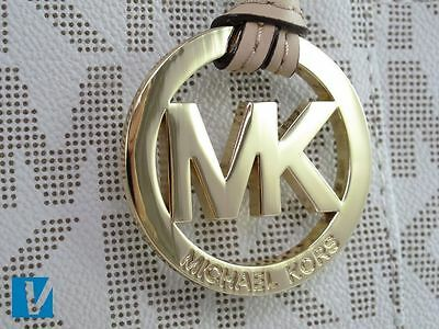 Most Michael Kors Handbags Feature A Hanging Mk Logo The Distinct Letters Are Very Close Together And Any Engraving Will Be Neat Clean