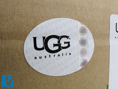 523fd4cadea6 New UGG boot retail boxes also feature a hologram sticker. In position 1 it  should show the starburst logo.