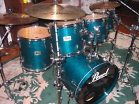 Pearl srx session set 6-piece with cases