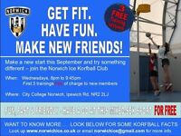 NEW players needed - Korfball - FREE taster sessions