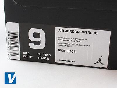 How to Spot Fake Nike Air Jordan 10's | eBay