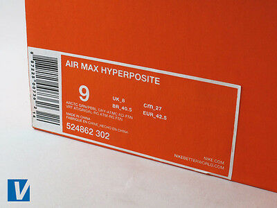 How to Spot Fake Nike Air Max Hyperposites | eBay