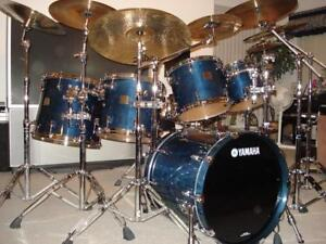 "Yamaha 7 piece ""Maple Absolute Custom"" with Dual Electronic Triggers"