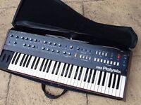 Vintage Korg Polysix analog synthesizer - string machine.
