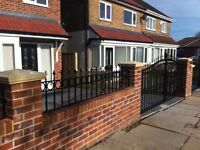 Professional Fencing Services/Wrought Iron Gates/Installation and repairs
