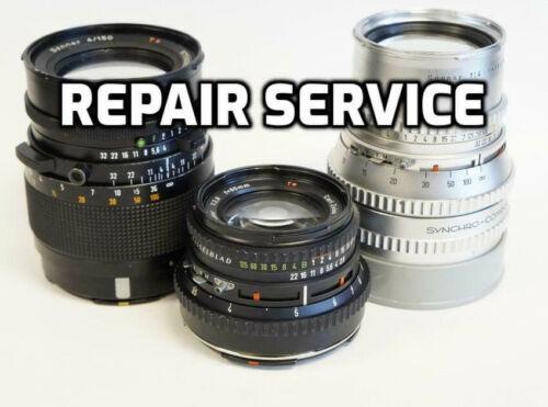 """Repair Service"" Hasselblad Carl Zeiss Lenses - 6 month warranty"