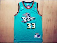 Pistons Grant hill basketball Jersey