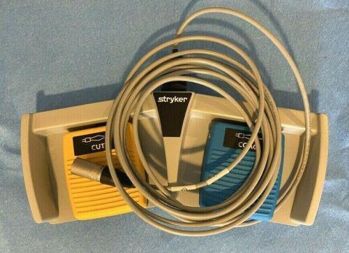 Stryker Bipolar Generator Cut/Coag Dual Foot Pedal Neuro Spine ENT 6700-313-002