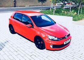 VOLKSWAGEN GOLF 2.0 GTI 5d 210 BHP (red) 2011