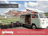 Goboony - Hire a motorhome from a local owner