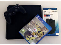 PlayStation 4 console (slimline) with 6 games