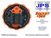 Electrical Mains Socket Tester Test Socket & See Professional SOK32 JPST014
