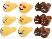 Emoji Slippers. Small, Medium & Large. Lots of designs available. Ideal Valentines gift. UK2-10