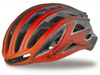 Specialized S-Works Prevail Helmet Brand New Medium Red / Black Fade