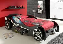 Kids Childrens Black Racing Race Car Bed Boys Toddler Single Bed Perth Northern Midlands Preview