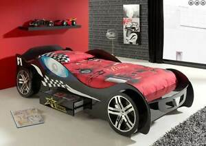Kids Bed Single Car Bed Toddler Race Racing Car Bed Boys Girls Mandurah Mandurah Area Preview