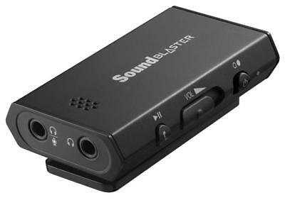 N Creative Sound Blaster E1 SB1600 Portable Headphone Amplifier w/Mic Dual Jacks