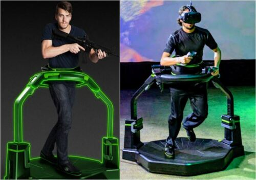 COMPREHENSIVE OMNI VR MOTION PACKAGE INCL GAMING-PC, WIRELESS VIVE, SURROUND SND