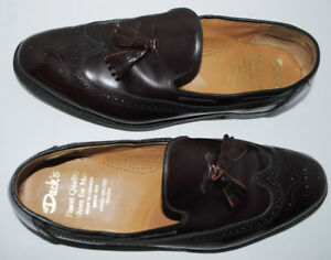 Man's Dack Custom Made Leather Loafers Size 12 F
