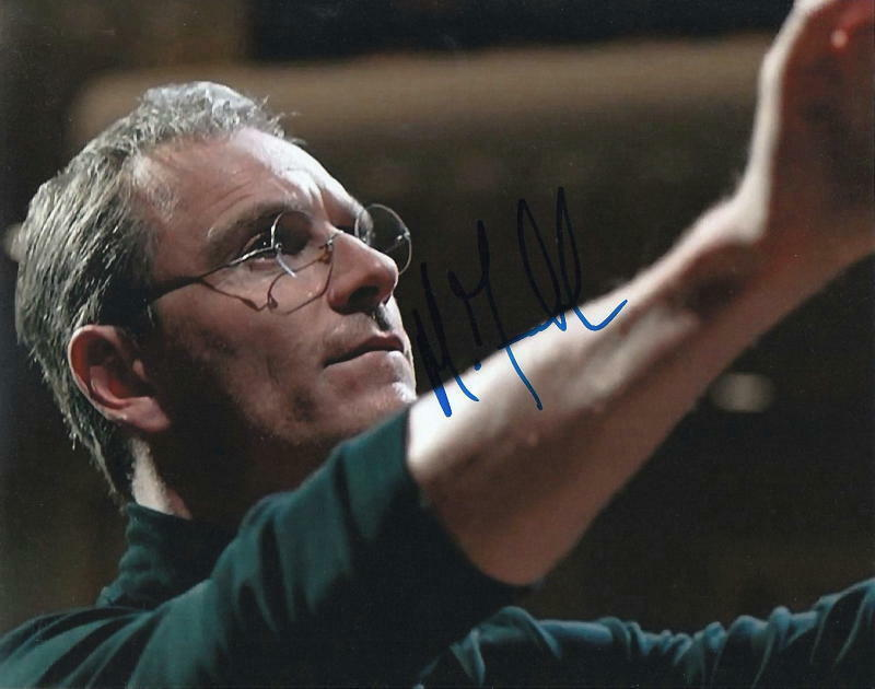 MICHAEL FASSBENDER.. as Steve Jobs - SIGNED