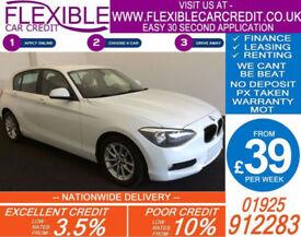2012 BMW 118D 2.0 TD SE GOOD / BAD CREDIT CAR FINANCE FROM 39 P/WK