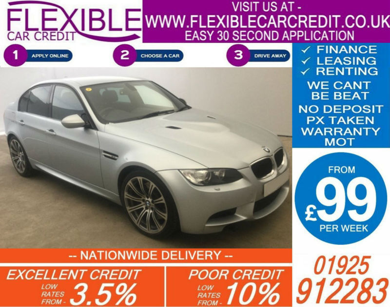 2011 BMW M3 4.0L SEMI AUTO GOOD / BAD CREDIT CAR FINANCE AVAILABLE