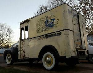 Wanted old milk or bread van
