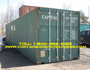 Used Steel Cargo Containers / Steel Shipping Containers