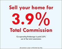 SELL 3.9% TOTAL ***FULL SERVICE LISTING