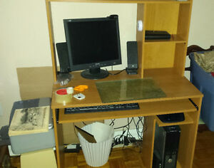 Computer System and Desk - $120