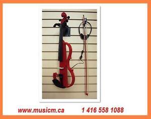 Electric Silent Violins, Violas, Cellos www.musicm.ca