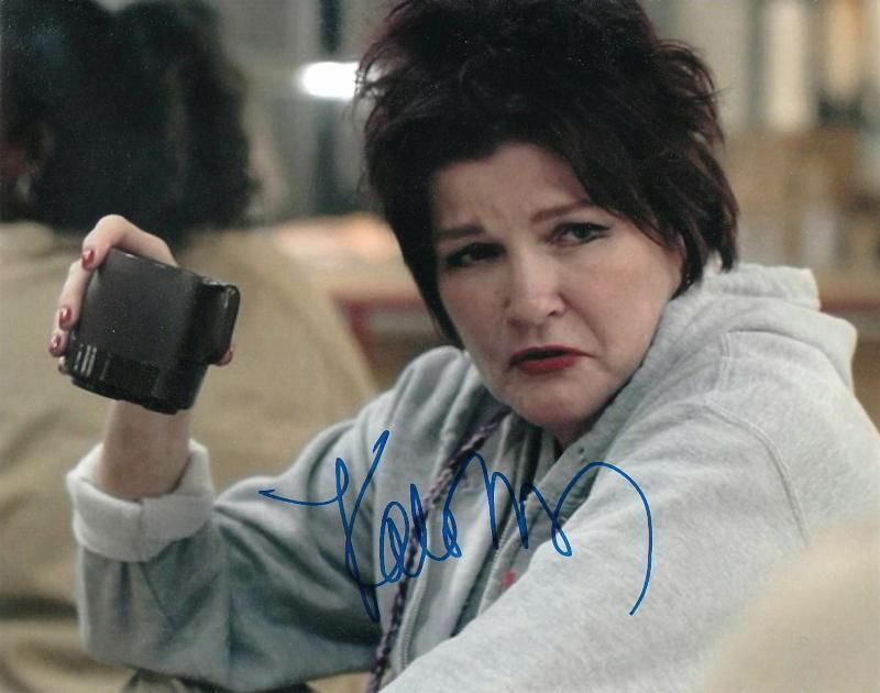 KATE MULGREW.. Orange Is The New Black's Red - SIGNED