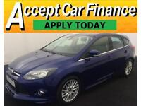 Ford Focus 1.6 SCTi ( 182ps ) 2014MY Zetec S FROM £51 PER WEEK!
