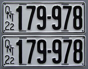 Vintage YOM License Plates - Ministry Approval Guaranteed! Peterborough Peterborough Area image 6