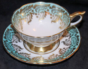 ROYAL STAFFORD TEA CUP & SAUCER