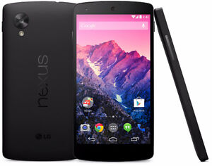Nexus 5 16GB, Unlocked *WIND COMPAT*, No contract *Buy Secure*