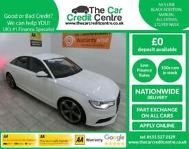 WHITE AUDI A6 2.0 TDI S LINE ***FROM £298 PER MONTH***