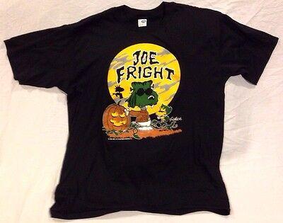 Vtg 80's SNOOPY Halloween Joe Cool Joe Fright ARTEX T-Shirt Size L 50/50 SOFT](Joe Cool Snoopy Halloween)