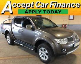 Mitsubishi L200 2.5DI-D CR ( EU V ) 4WD LB auto Barbarian FROM £72 PER WEEK.
