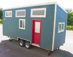 Tiny Home on Wheels - 24ft, Shed Style