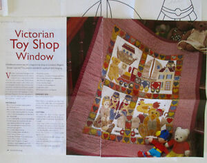 "Quilters ""Victorian Toy Shop"" Pattern"