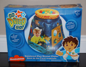 Diego Ball Pit and NEW Caillou / Toy Story Puzzles - All for $15