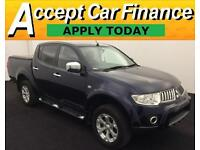 Mitsubishi L200 2.5DI-D CR 4WD ( lth ) FROM £46 PER WEEK!