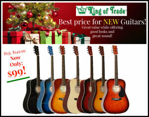 NEW Guitars at King of Trade!