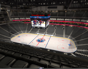 Oilers Tickets - Sec 218, Row 8 - Starting at $250/pair
