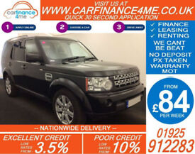 2011 LAND ROVER DISCOVERY 3.0 TDV6 XS GOOD / BAD CREDIT CAR FINANCE AVAILABLE