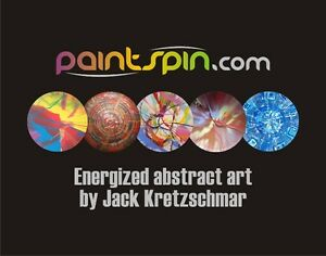 Large, Round, Colourful, Abstract Spin Painting Art from $175 Oakville / Halton Region Toronto (GTA) image 1