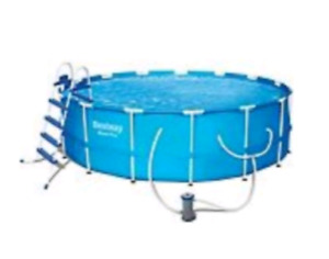 REDUCED PRICE Steel frame pool
