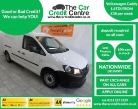 WHITE VOLKSWAGEN CADDY 1.6 C20 TDI STARTLINE ***from £149 per month***
